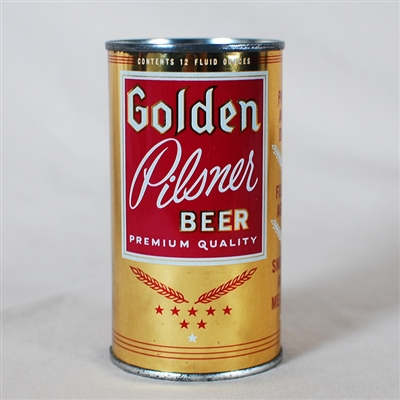 Golden Pilsner Flat Top Beer Can 73-27