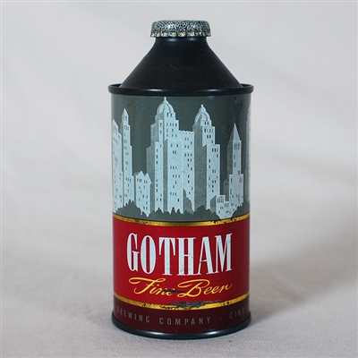 Gotham Cone Top Beer Can 166-21