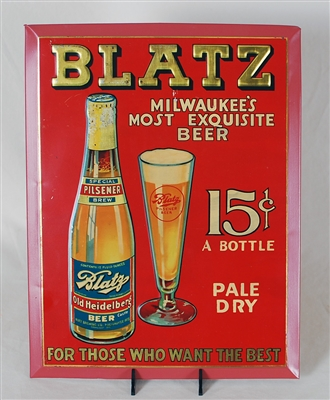 Blatz Old Heidelberg TOC Sign