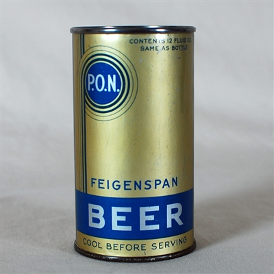 Feigenspan P.O.N. Beer Instructional 263