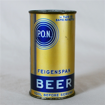 Feigenspan P.O.N. Beer Instructional 264