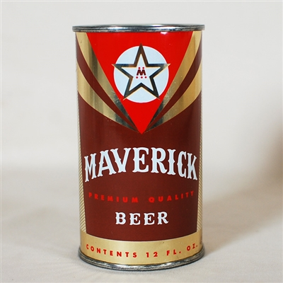 Maverick Beer Flat Top Can 94-39