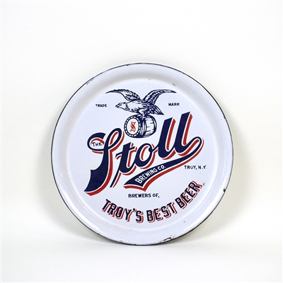 Stoll Brewing Troy Eagle Pre-Pro Enameled Tray