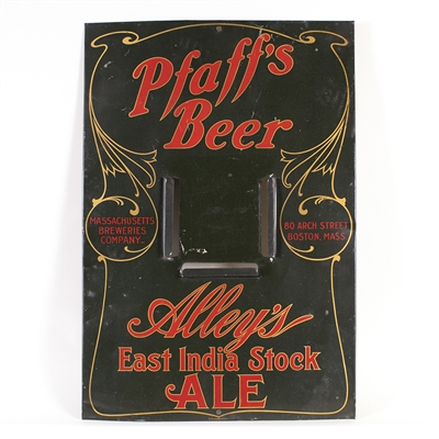 Pfaffs Beer Alleys East India Stock Ale Pre-Pro Sign