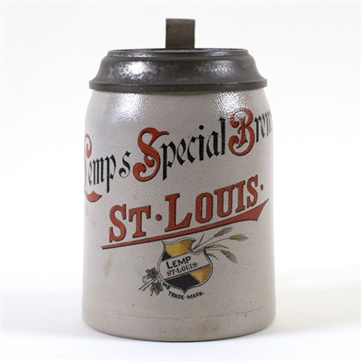 Lemps Special Brew St. Louis Beer Stein