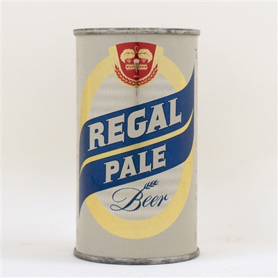 Regal Pale Beer Flat Top Can