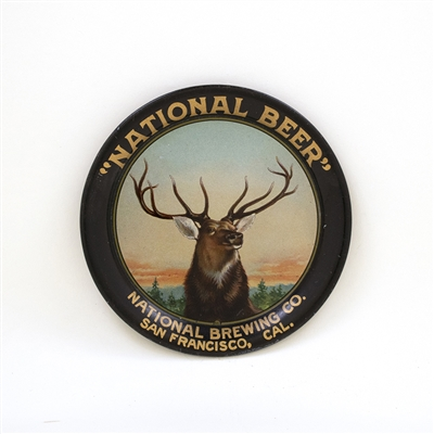 National Beer Elk San Francisco Tip Tray