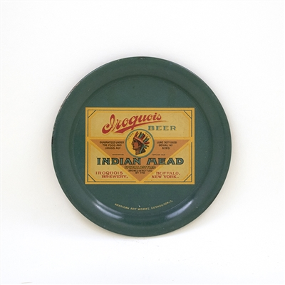 Iroquois Indian Head Beer Tip Tray