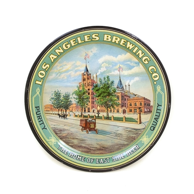 Los Angeles Brewing Factory Scene Tip Tray