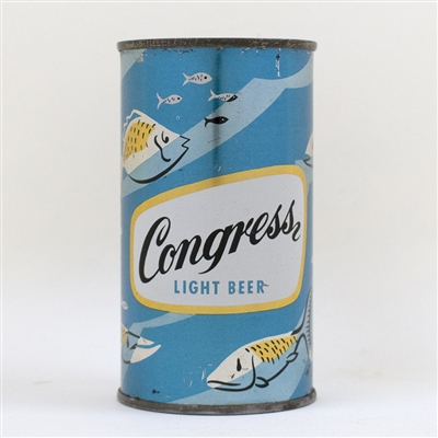 Congress Light Beer Blue Set Can