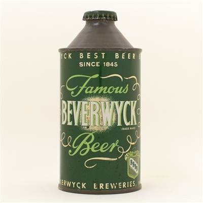 Beverwyck Beer Since 1845 Cone Top Can