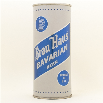 Brau Haus Bavarian Beer Pint Flat Top Can