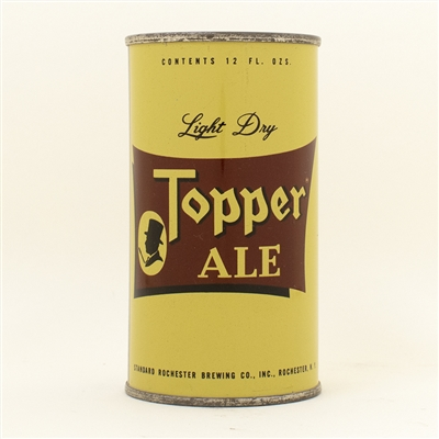 Topper Ale Flat Top Beer Can