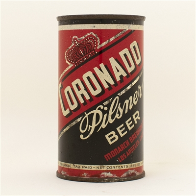 Coronado Beer Flat Top Can RARE