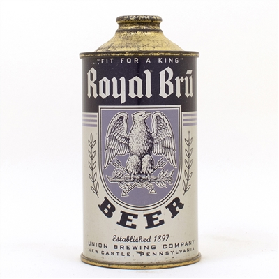 Royal Bru Beer Union Brewing New Castle Cone Top
