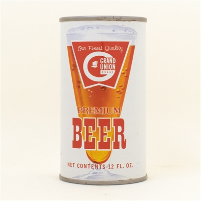 Grand Union Beer Flat Top Can