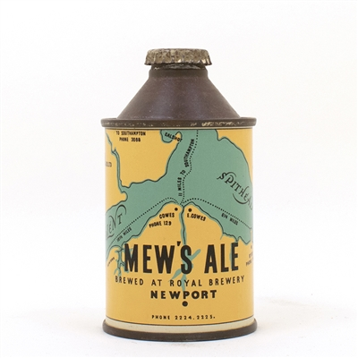 Mews Ale Royal Brewery Newport Cone Top Can