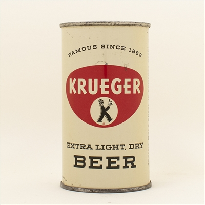 Krueger Beer Flat Top Can