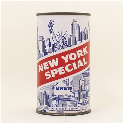 New York Special Brew Flat Top Beer Can