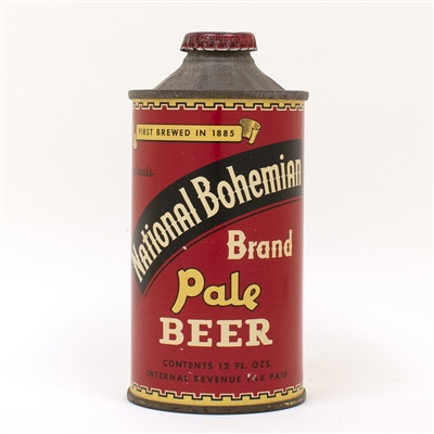National Bohemian Pale LP Beer Cone Top