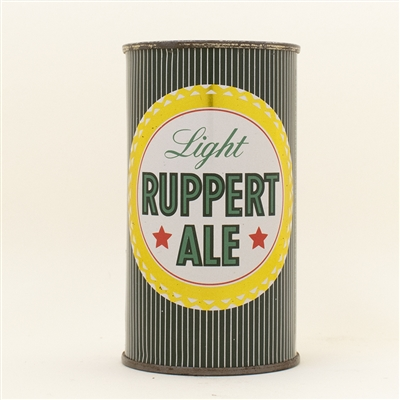 Ruppert Ale Flat Top Beer Can CLEAN