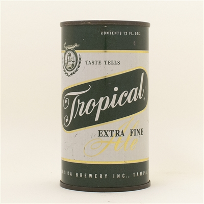 Tropical Ale Flat Top Beer Can