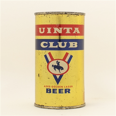 Uinta Club Beer Flat Top Can