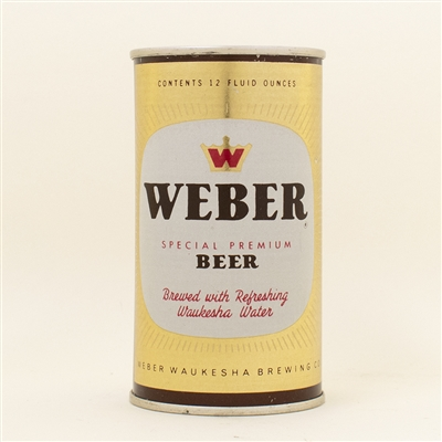 Weber Beer Flat Top Can CLEAN