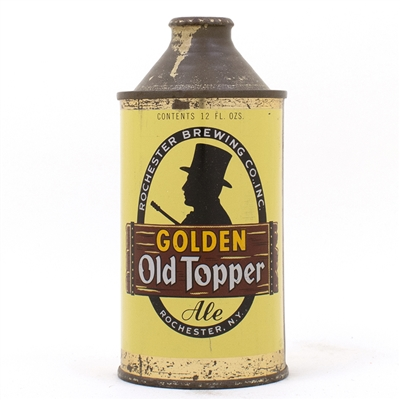 Golden Old Topper Ale Cone Top Can