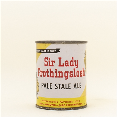 Sir Lady Frothingslosh Pale Stale Ale Flat Top Can