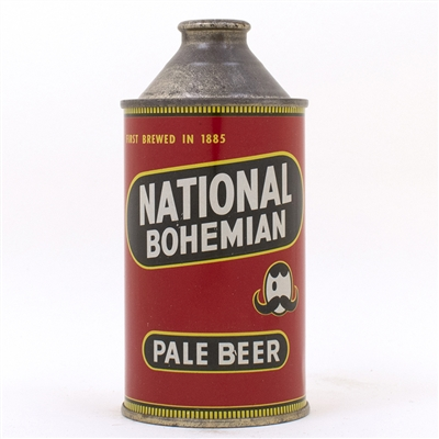 National Bohemian Pale Beer HP Cone Top Can