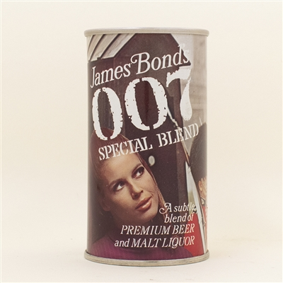 007 James Bond Guards Pull Tab Beer Can