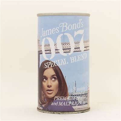 007 James Bond Tower Bridge Pull Tab Beer Can