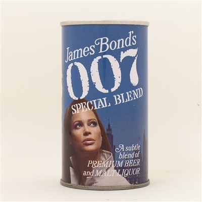 007 James Bond Big Ben At Night Pull Tab Beer Can