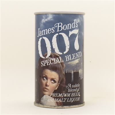 007 James Bond Westminster Pull Tab Beer Can