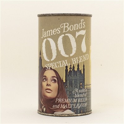 007 James Bond Big Ben And Sun Pull Tab Beer Can