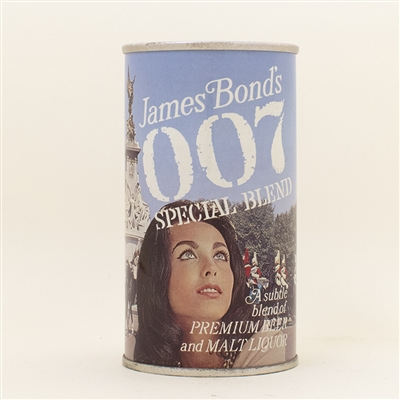 007 James Bond Mounted Guards Pull Tab Beer Can