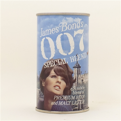 007 James Bond Castle Pull Tab Beer Can