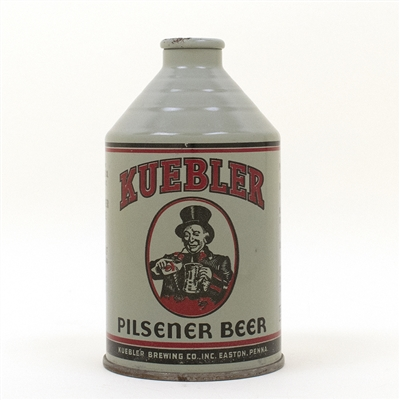 Kuebler Beer Rare Gray Crowntainer Cone Top