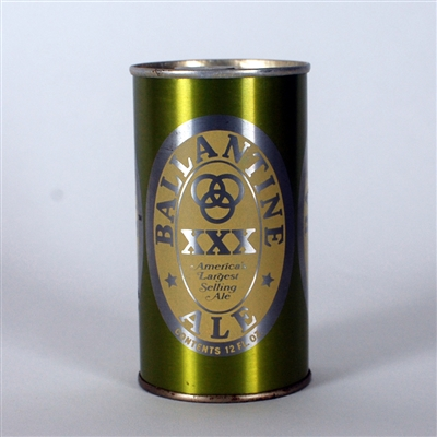 Ballantine Ale Metallic Green Test Can