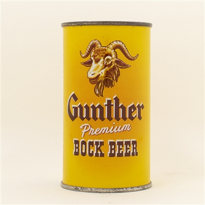Gunther Bock Flat Top Beer Can
