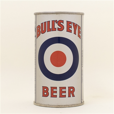 Bulls Eye Beer Opening Instruction Flat Top Can