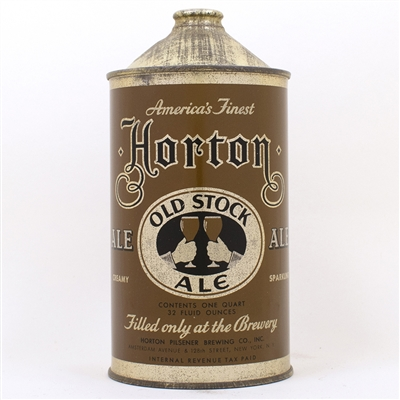 Horton Old Stock Ale Quart Cone Top Can