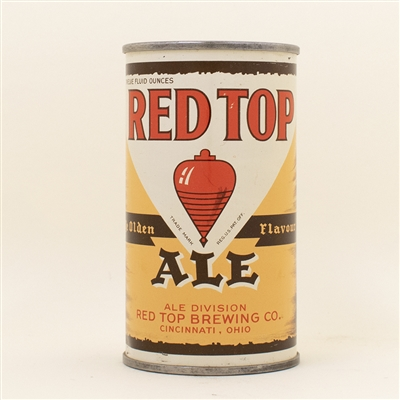 Red Top Ale Opening Instruction Flat Top Can