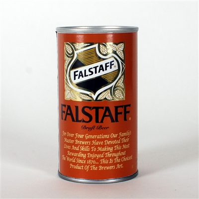 Falstaff BROWN Test Can NL