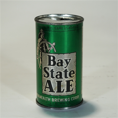 Bay State Ale Instuctional Flat Top Can