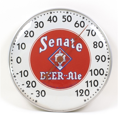 Heurich Senate Beer Ale Advertising Thermometer
