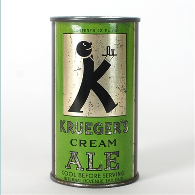 Kruegers Cream Ale LIME GREEN BALDY
