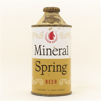 Mineral Spring Beer Cone Top Can