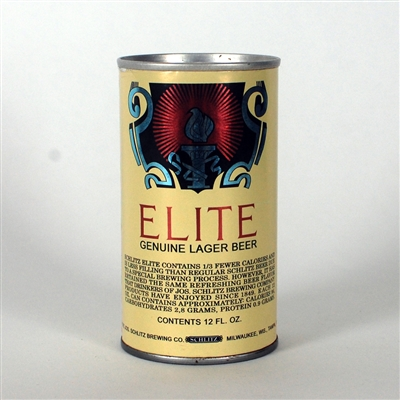 Elite Lager Beer Test Can